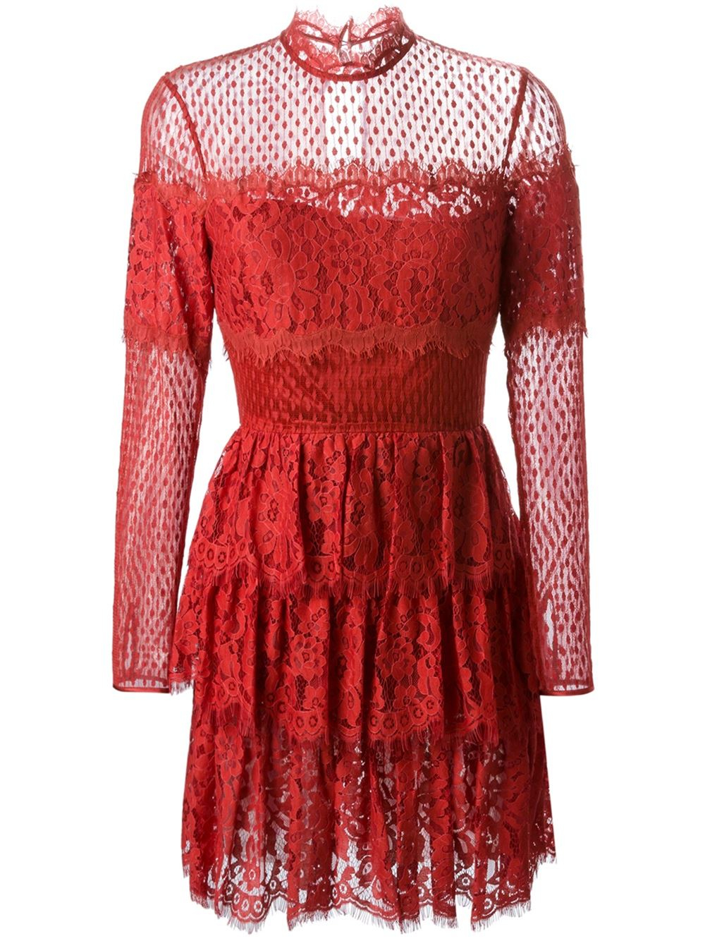 Temperley london 'constance' Lace Dress in Yellow (yellow ...