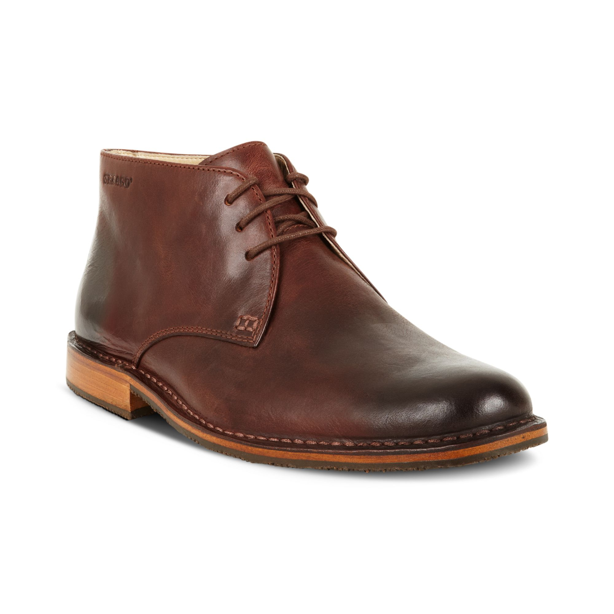sebago tremont chukka boots in brown for lyst