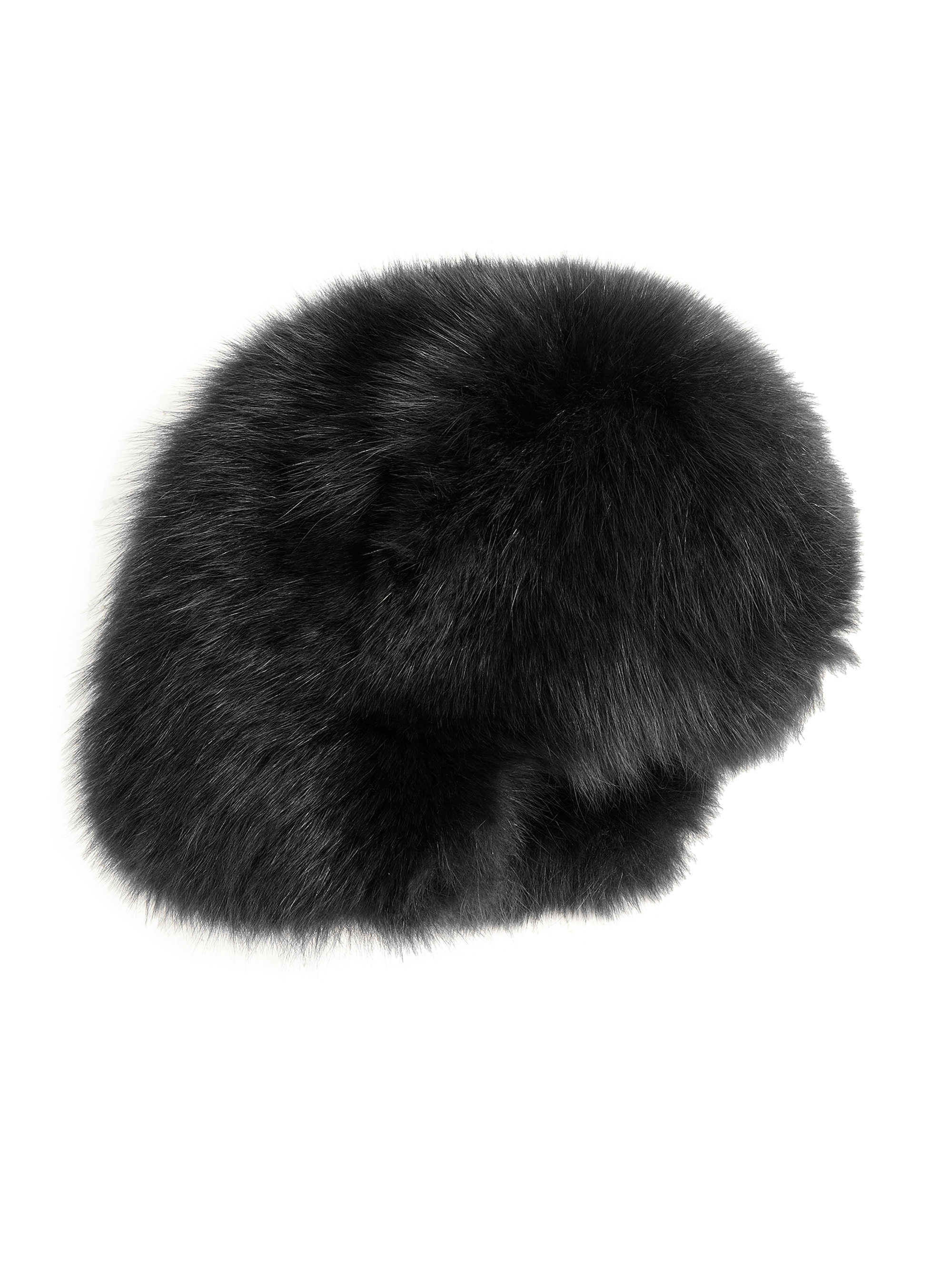 Lyst - Moncler Fur Hat in Black 6160266c5a8