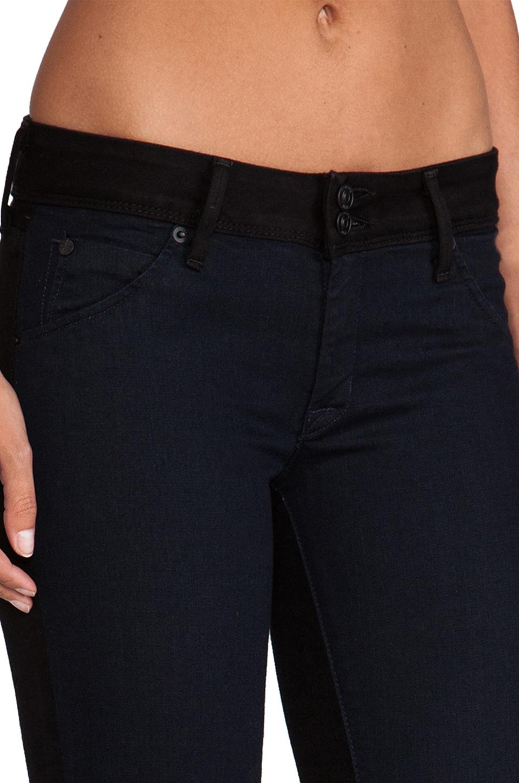 Hudson Jeans Collin Skinny In Blue Black In Blue Lyst
