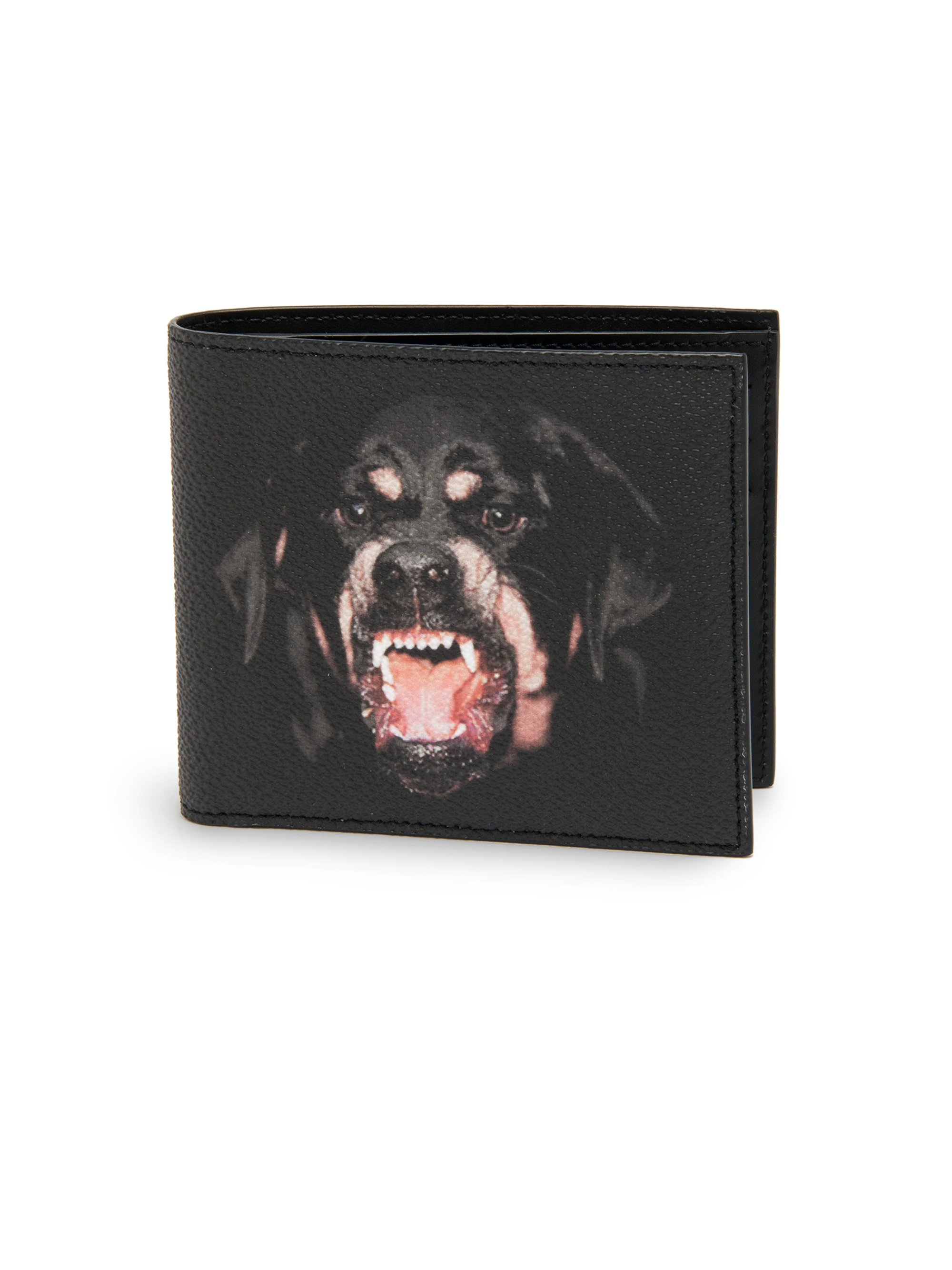 84bac73ab54 Lyst - Givenchy Rottweiler Leather Wallet in Black for Men