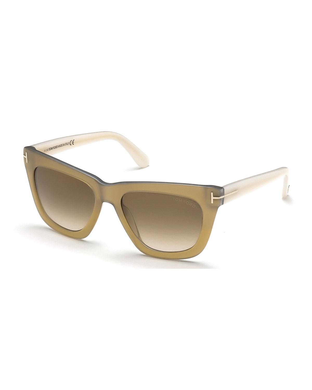 cf8c9301702 Lyst - Tom Ford Celina T-temple Polarized Sunglasses in White for Men
