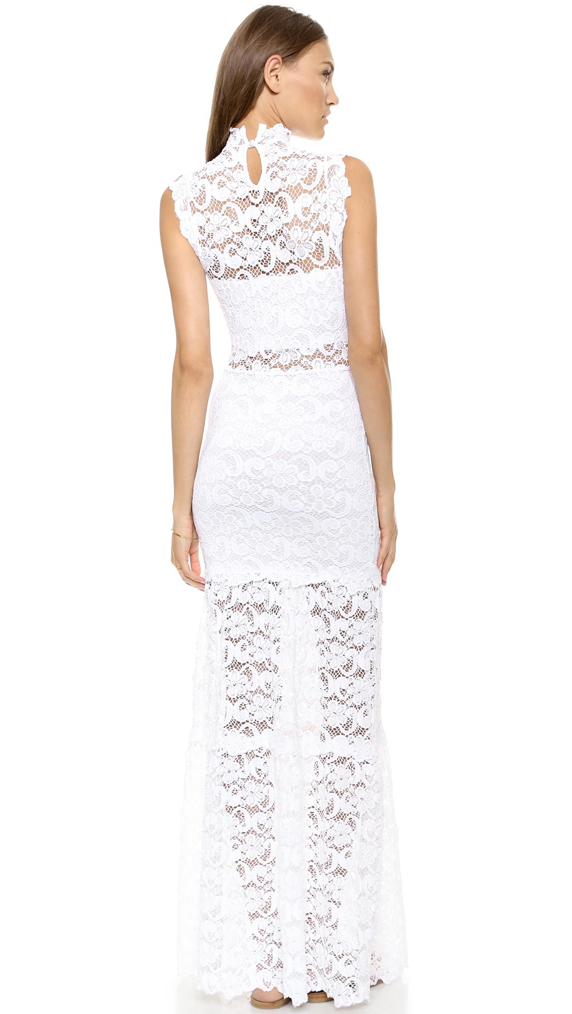 Nightcap dixie lace cut out dress