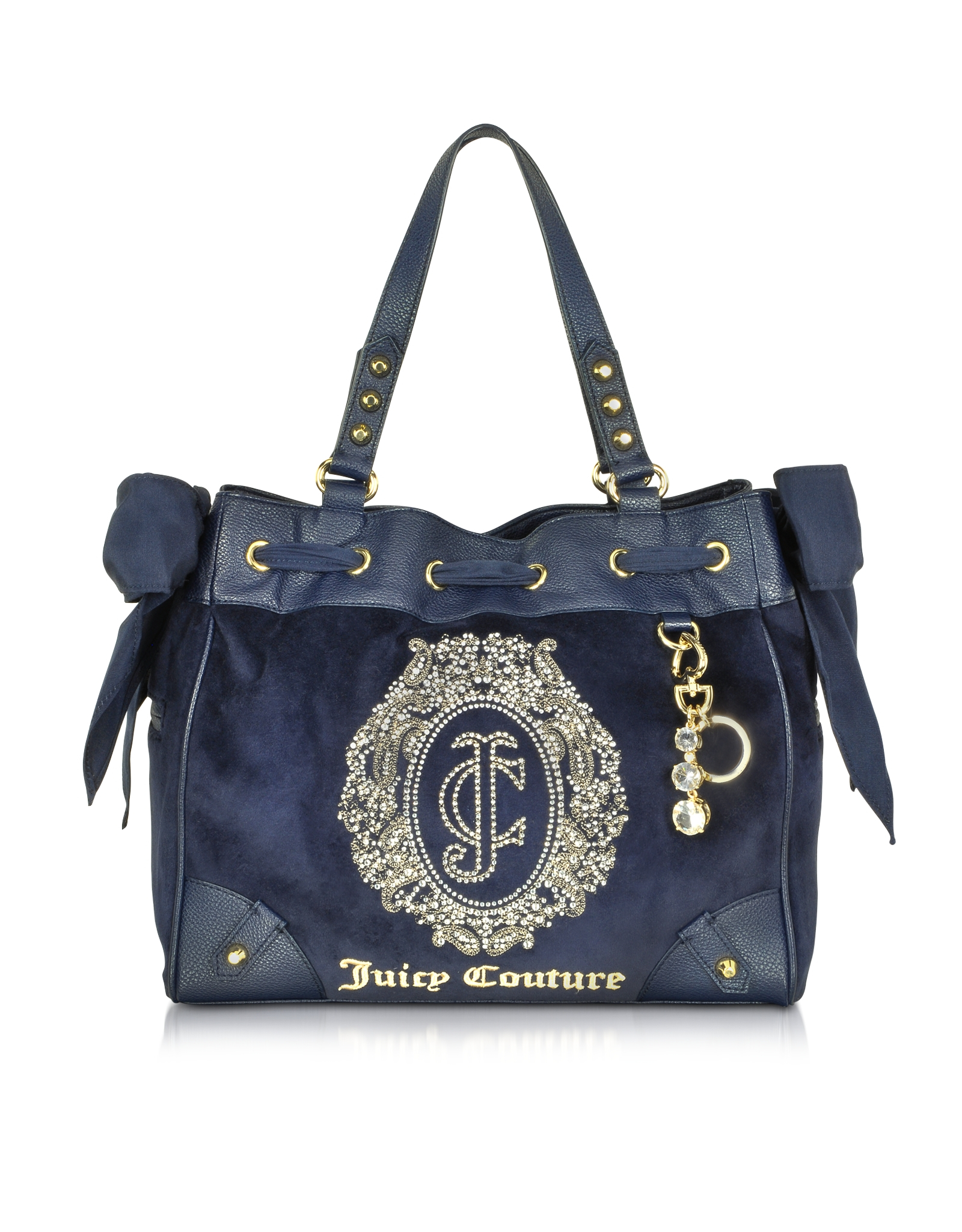 lyst juicy couture ornate monogram velour daydreamer. Black Bedroom Furniture Sets. Home Design Ideas