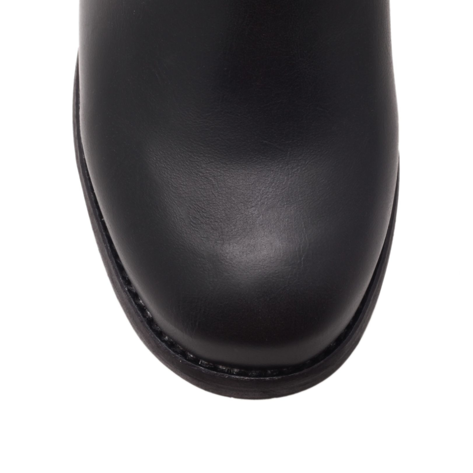 DKNY Nayla in Black Leather (Black)