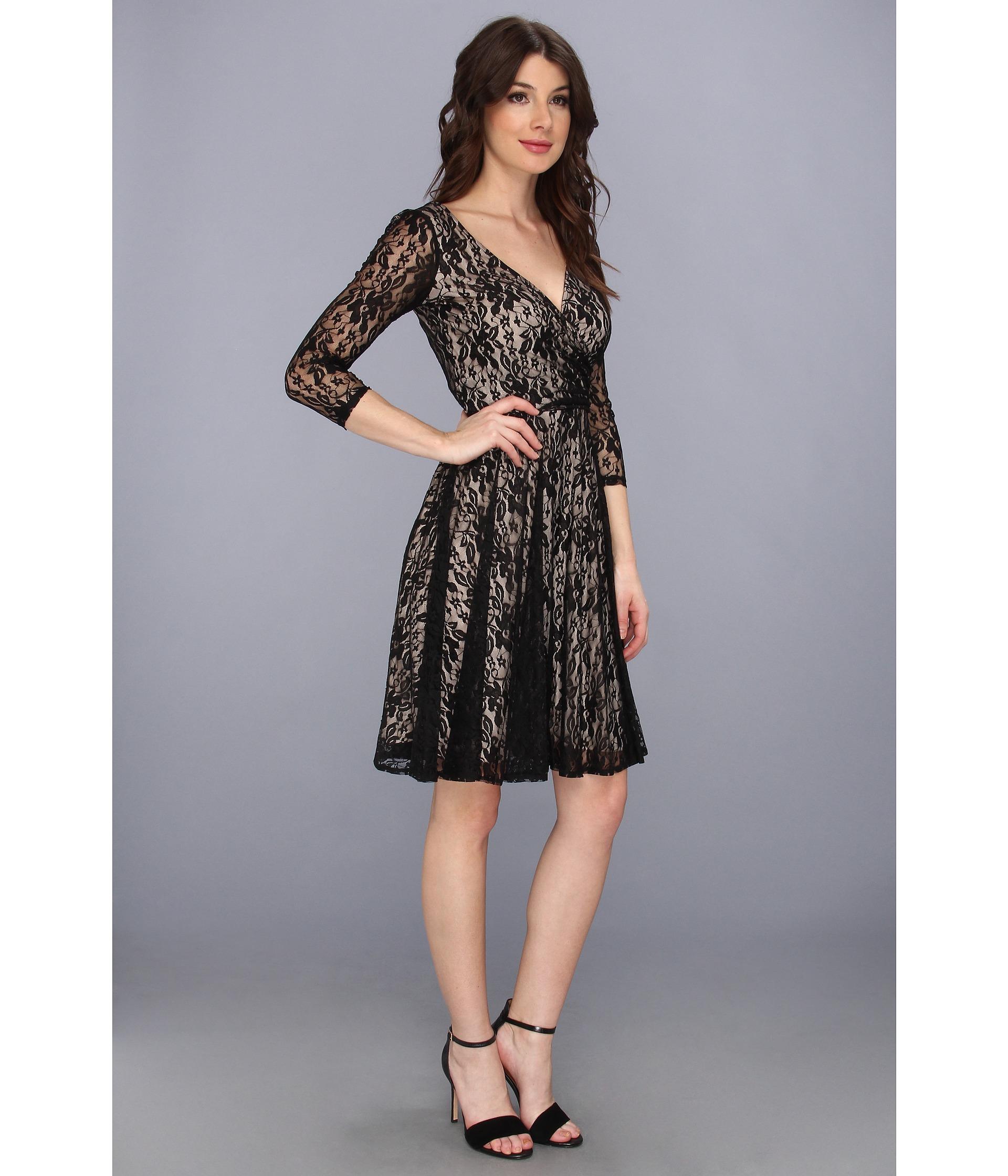 Stretch Lace Dress - Dress