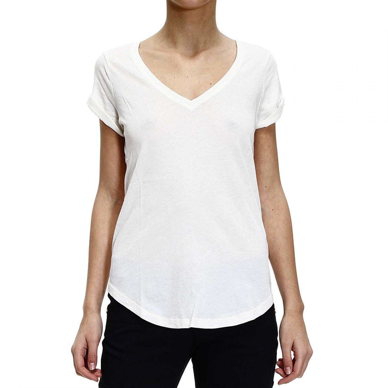 polo ralph lauren t shirt half sleeve v in white lyst. Black Bedroom Furniture Sets. Home Design Ideas