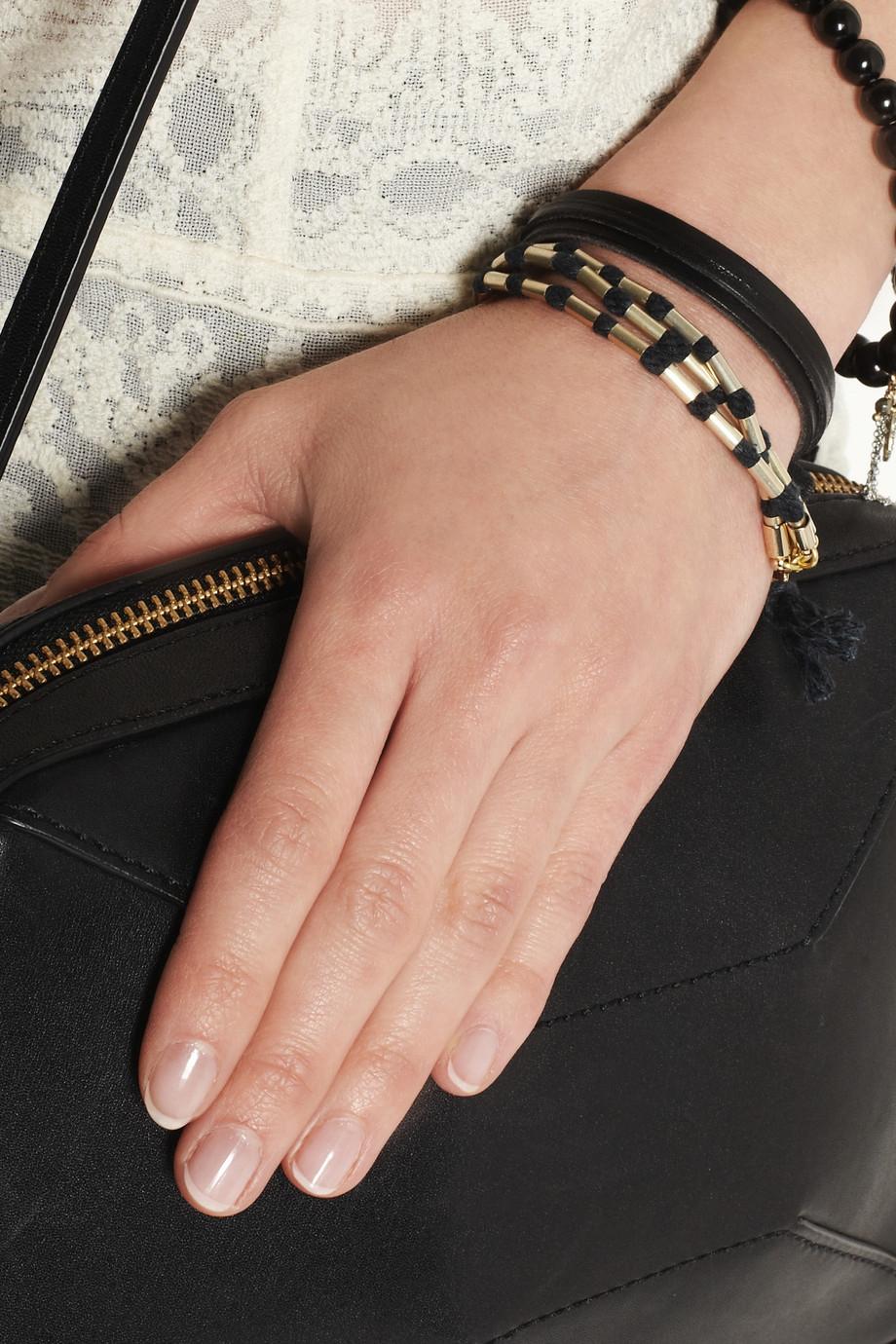 Isabel Marant Reading Bracelet in Black 1KXGK4sBzV