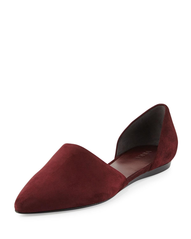 Sale Flat Red Nina Shoes