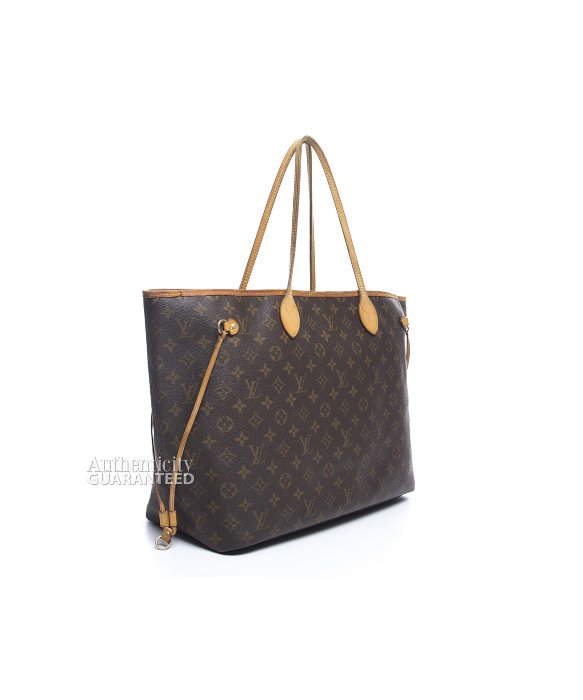 Louis Vuitton Trash Bags Gallery Louis Vuitton Pre Owned Monogram Canvas Neverfull Gm Bag In Brown
