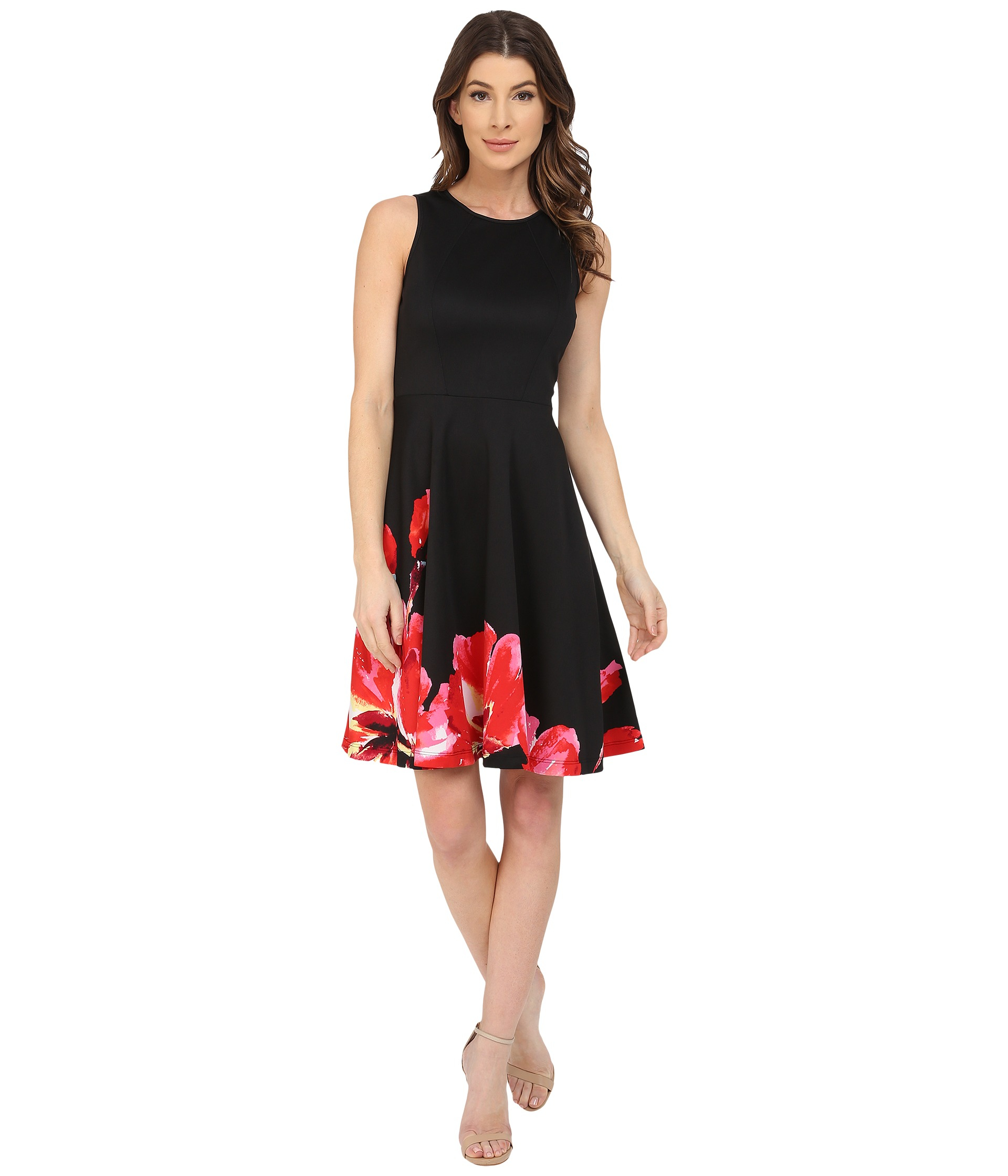 For warmer events, our scuba and crepe cocktail dresses are perfect. These light fabrics are versatile and can take you from season to season. In a variety of colors and prints, there is a lace cocktail dress for all occasions and seasons.