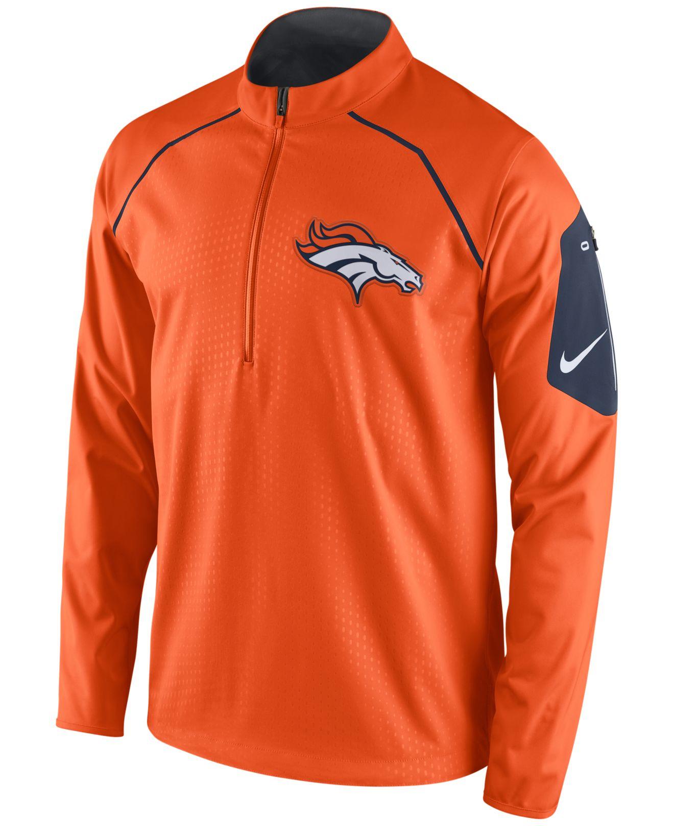 Men's Denver Broncos #88 Demaryius Thomas Orange 2016 Super Bowl 50 Game Stitched Jersey