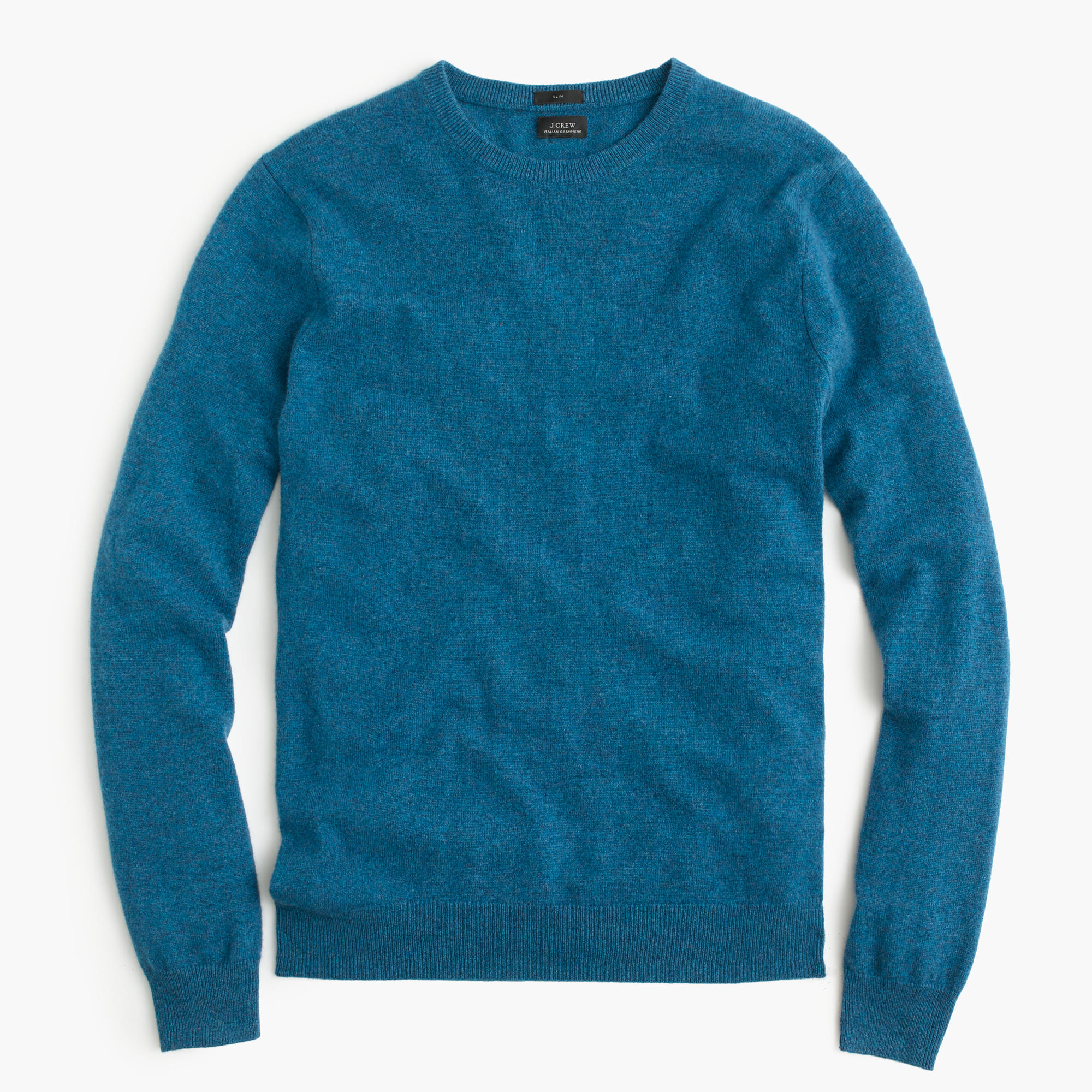 J.crew Slim Italian Cashmere Crewneck Sweater in Blue for ...