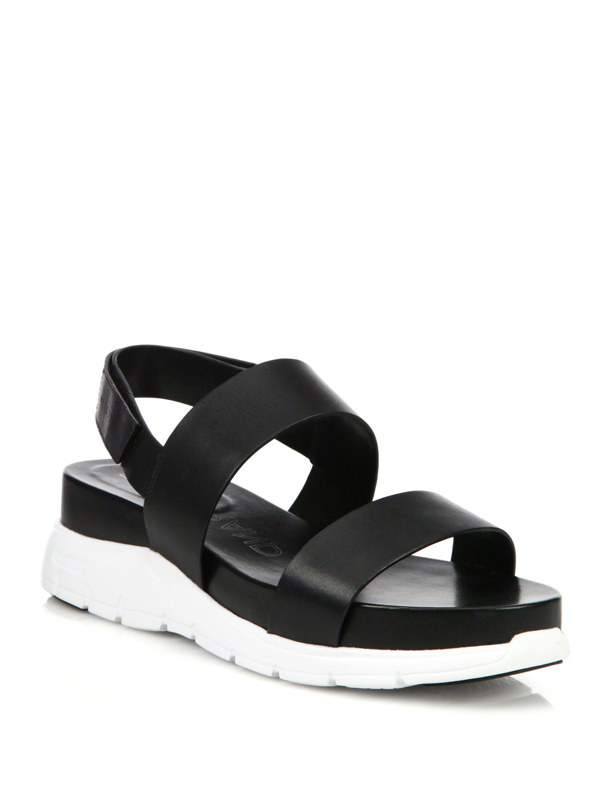 Cole Haan Zerogrand Leather Sandals qAD9RcJky4