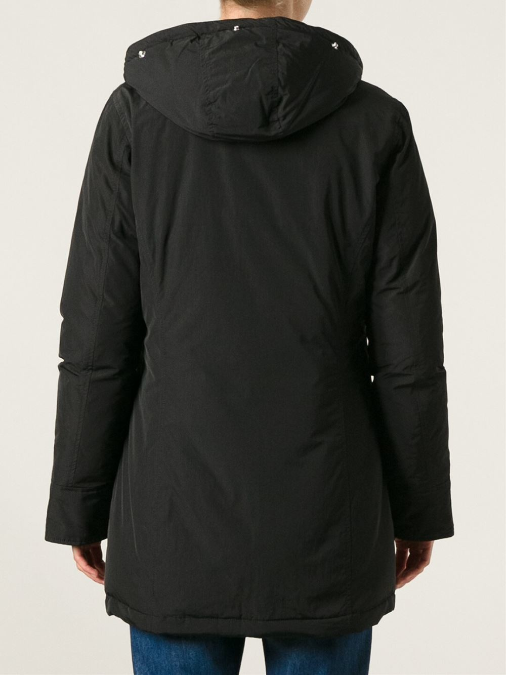woolrich luxury arctic parka in black lyst. Black Bedroom Furniture Sets. Home Design Ideas
