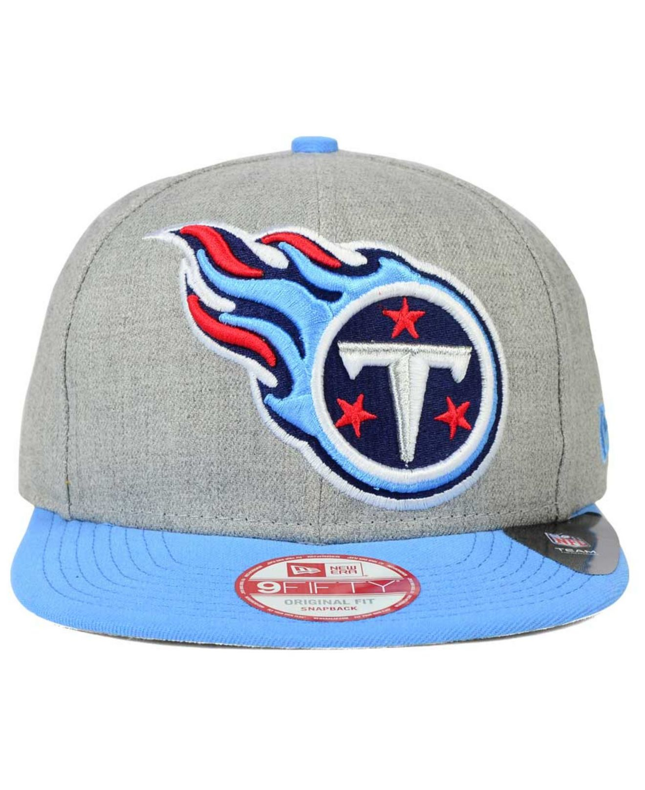 f271d7100 Lyst - Ktz Tennessee Titans Grand 9fifty Snapback Cap in Gray for Men