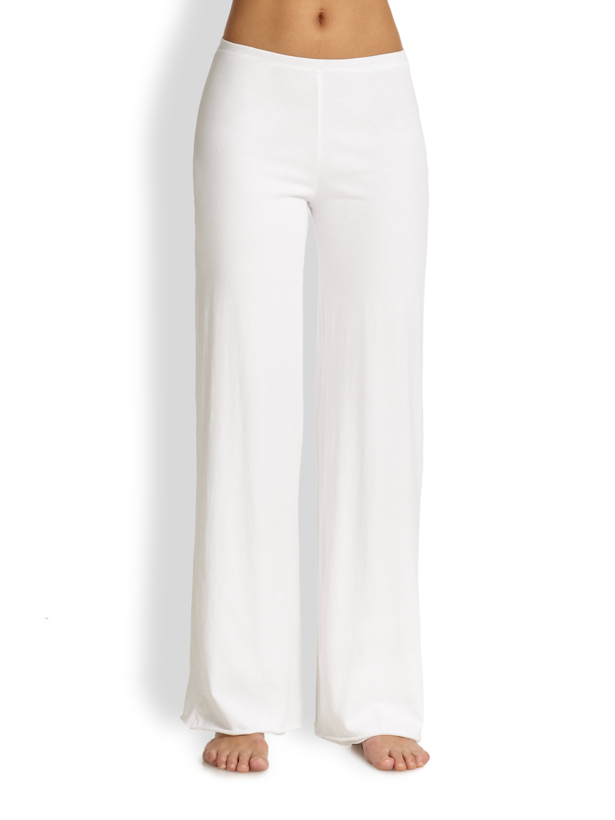 Skin Double-layer Long Pants in White | Lyst