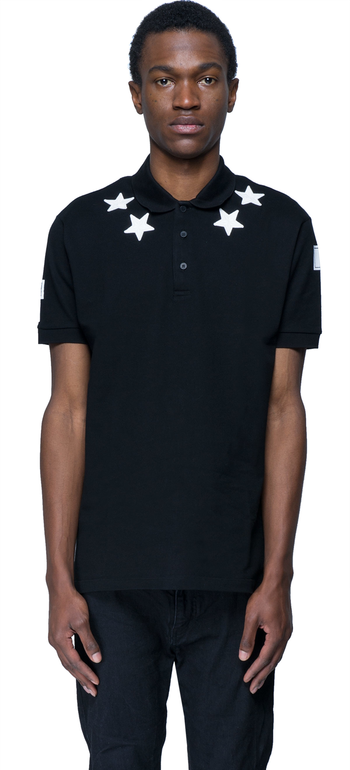Givenchy number print t shirt in black for men lyst for Givenchy t shirt man