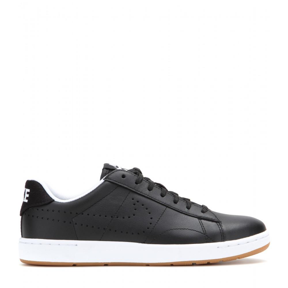 Lyst Tennis Classic lederen Nike sneakers in Ultra zwart 4rq4v