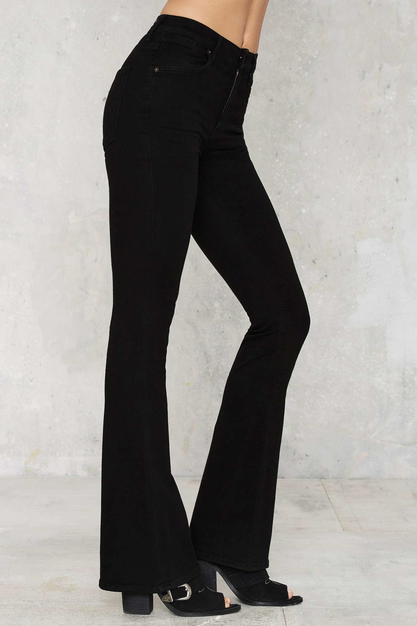Nasty gal Citizens Of Humanity Fleetwood High-waisted Flare Jeans ...