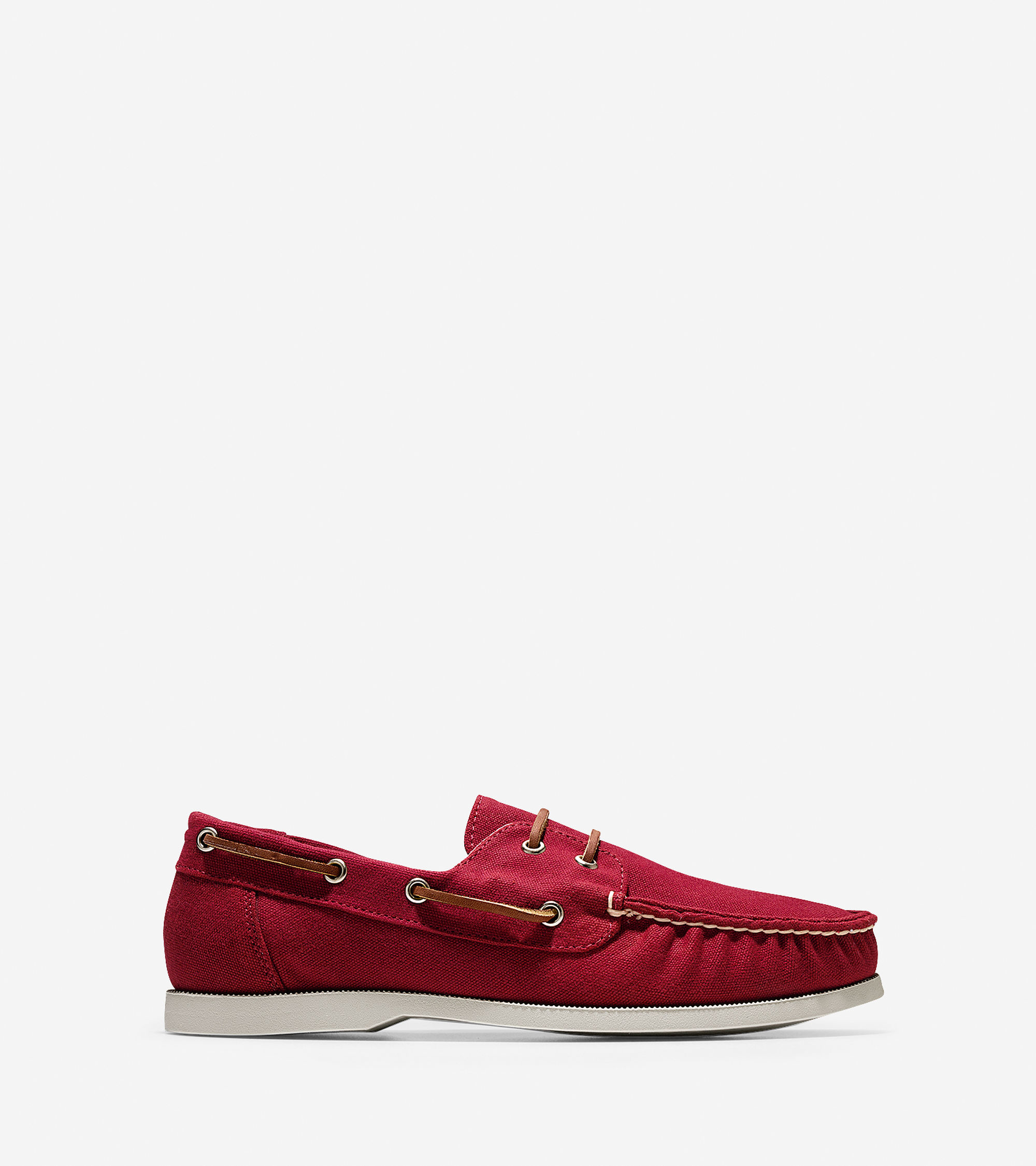 cole haan dominick boat shoe in for lyst