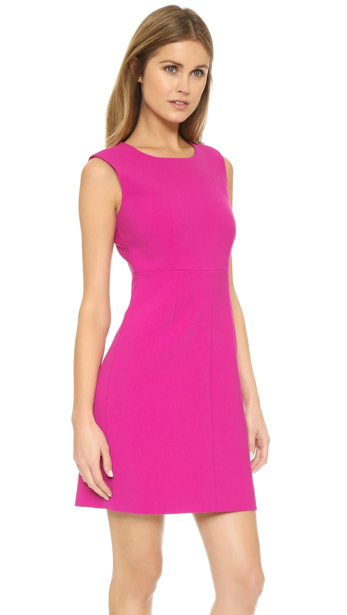 Lyst Diane Von Furstenberg Carrie Sheath Dress Hot