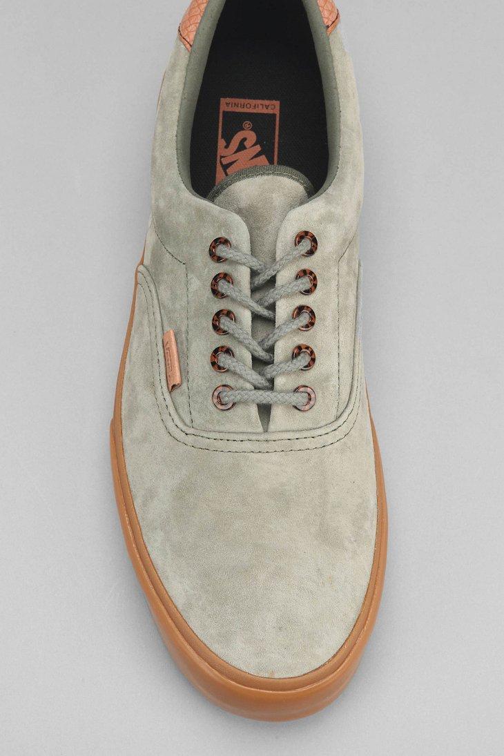 Lyst - Vans Era 59 California Suede Gum-Sole Men S Sneaker in Green ... d7736cf3ef