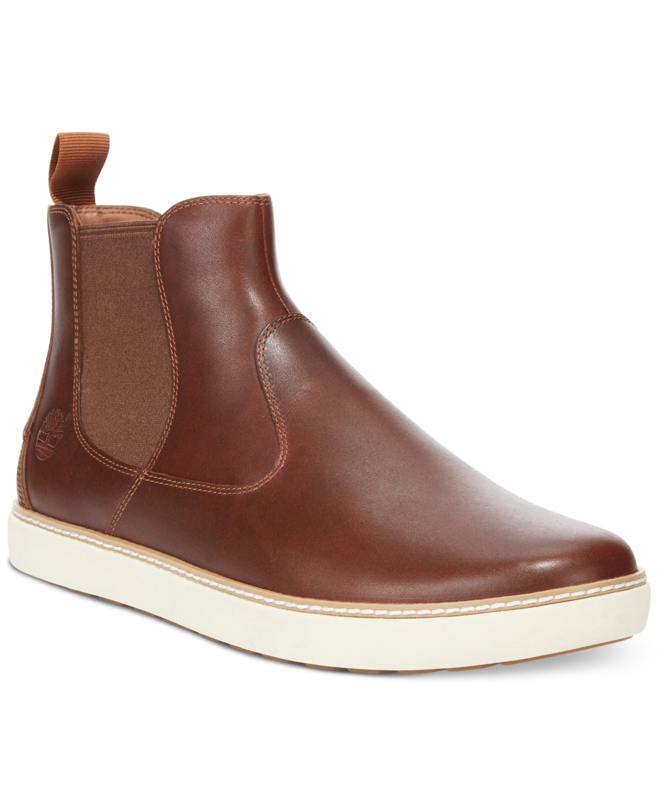 timberland earthkeepers hudston chelsea boots in brown for men lyst. Black Bedroom Furniture Sets. Home Design Ideas