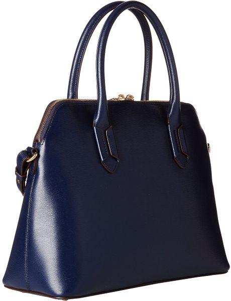 Ralph Lauren Tate Dome Satchel Laukku : Lauren by ralph tate dome satchel in blue navy