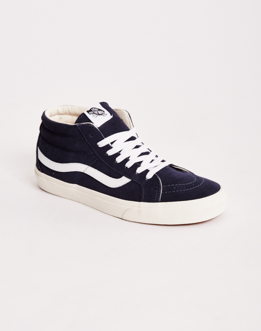 108345b2517 Lyst - Vans Half Cab Reissue Plimsolls Blue in Blue for Men