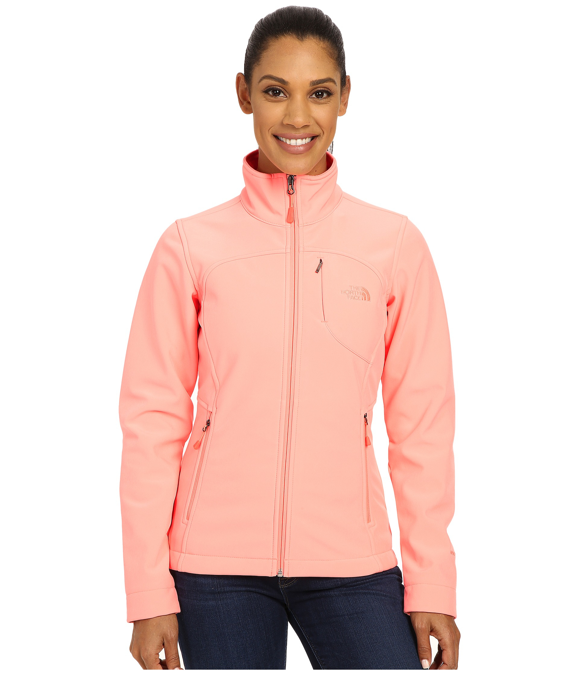 7b8a90db5 The North Face Pink Apex Bionic Jacket