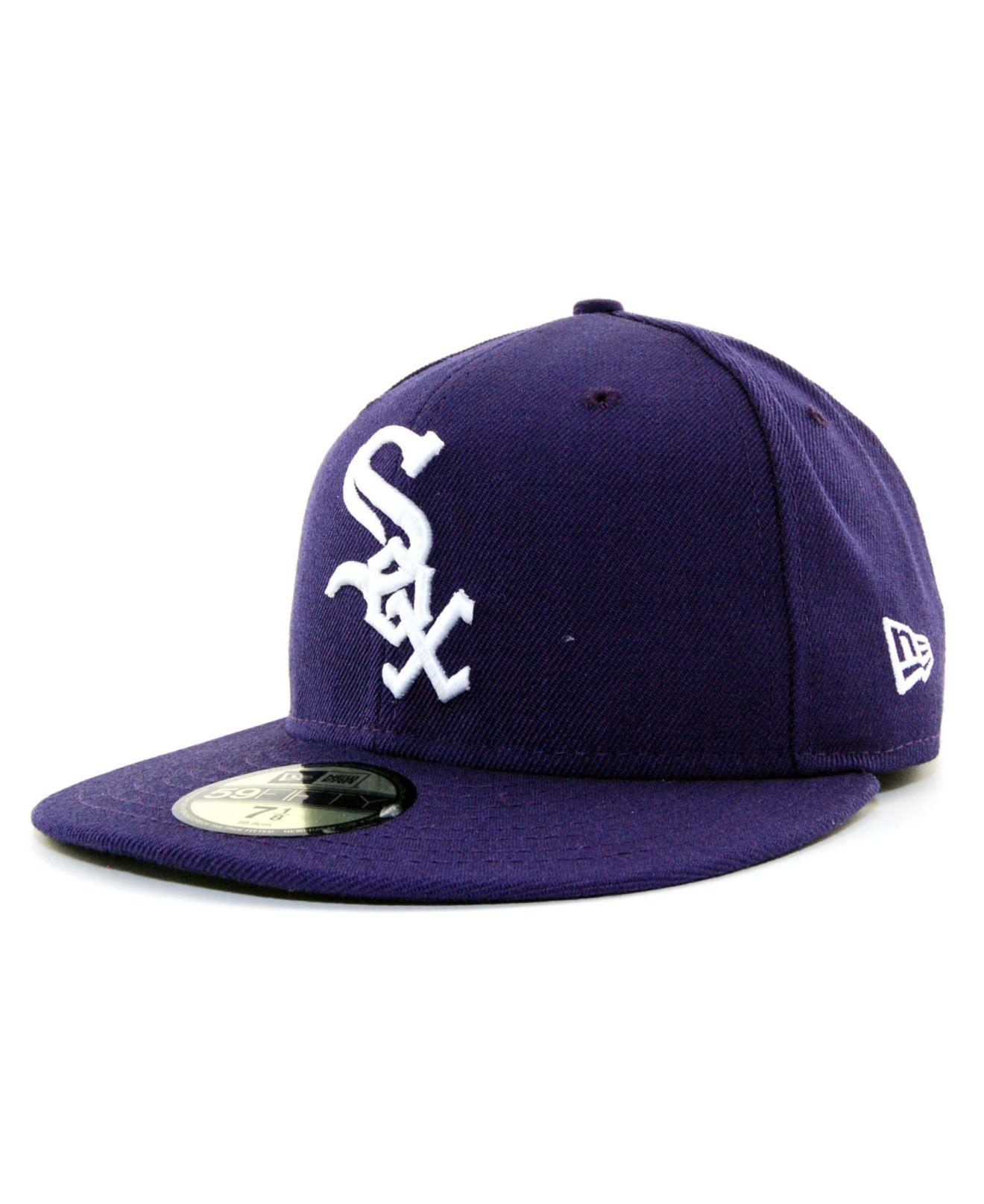 the best attitude ee091 d19d4 KTZ Chicago White Sox C-dub 59fifty Cap in Purple for Men - Lyst