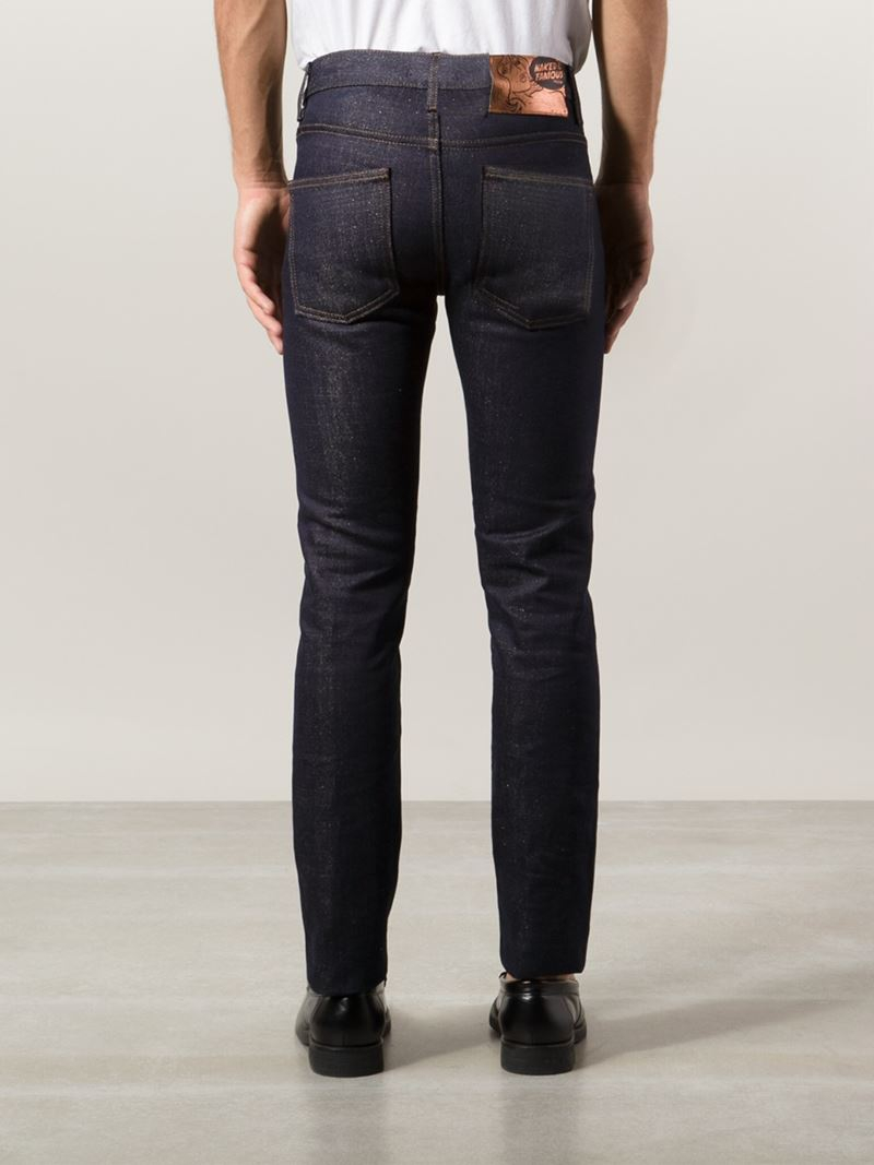 Lyst - Naked & famous 'super Skinny Guy ' Jeans in Blue ...