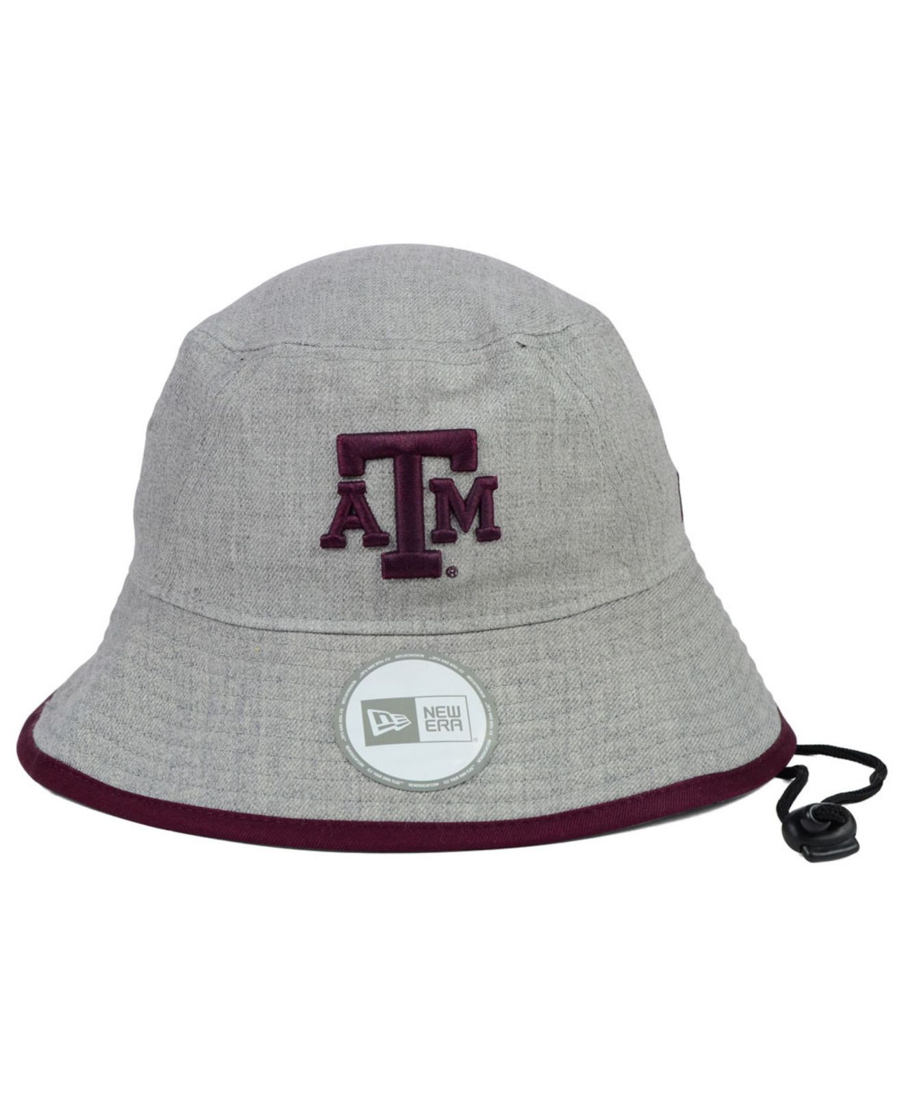 low cost b87ff 17aba KTZ Texas A M Aggies Tip Bucket Hat in Gray for Men - Lyst