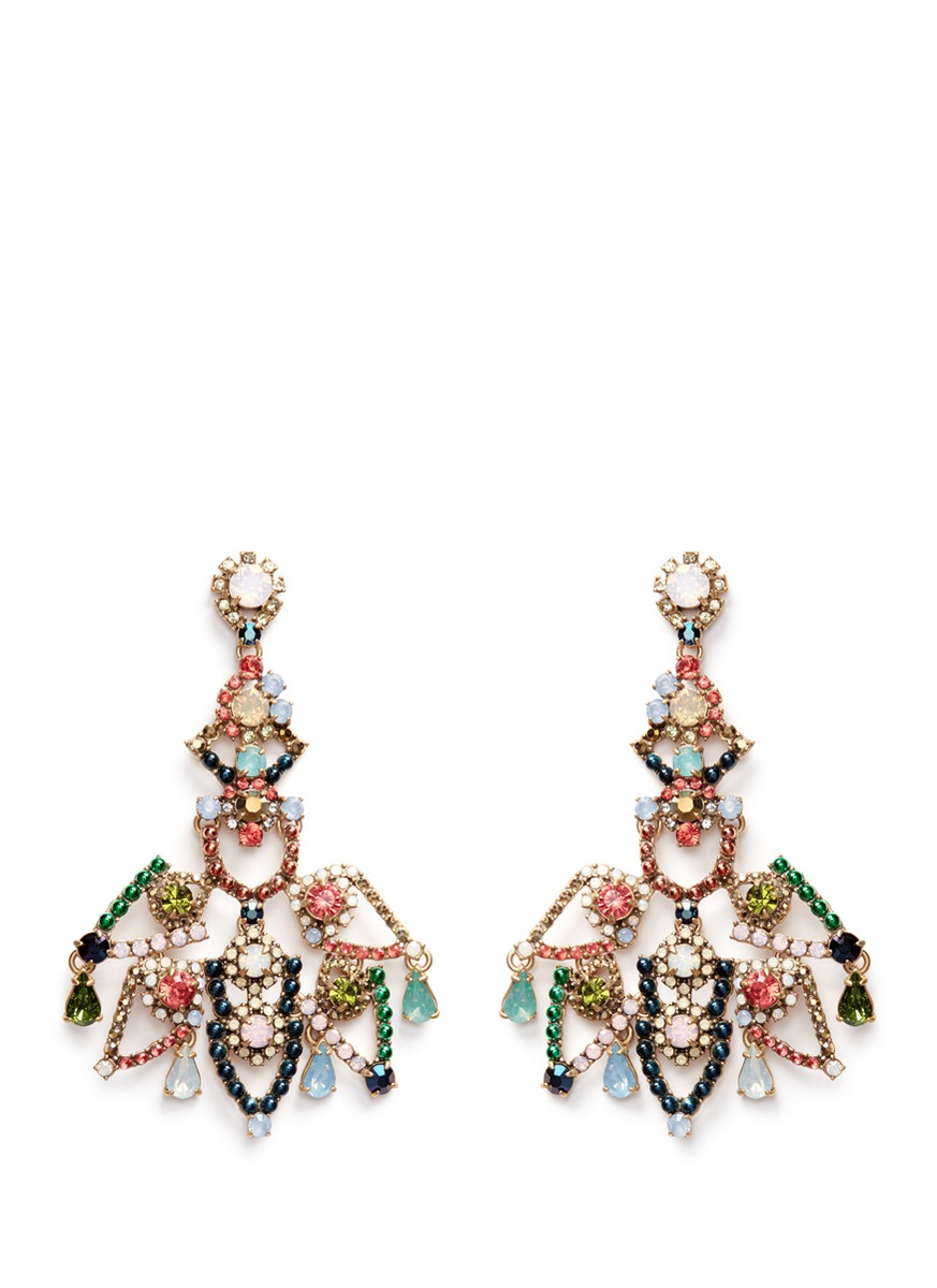 Multi color chandelier earrings chandelier designs multi color chandelier earrings designs arubaitofo Images
