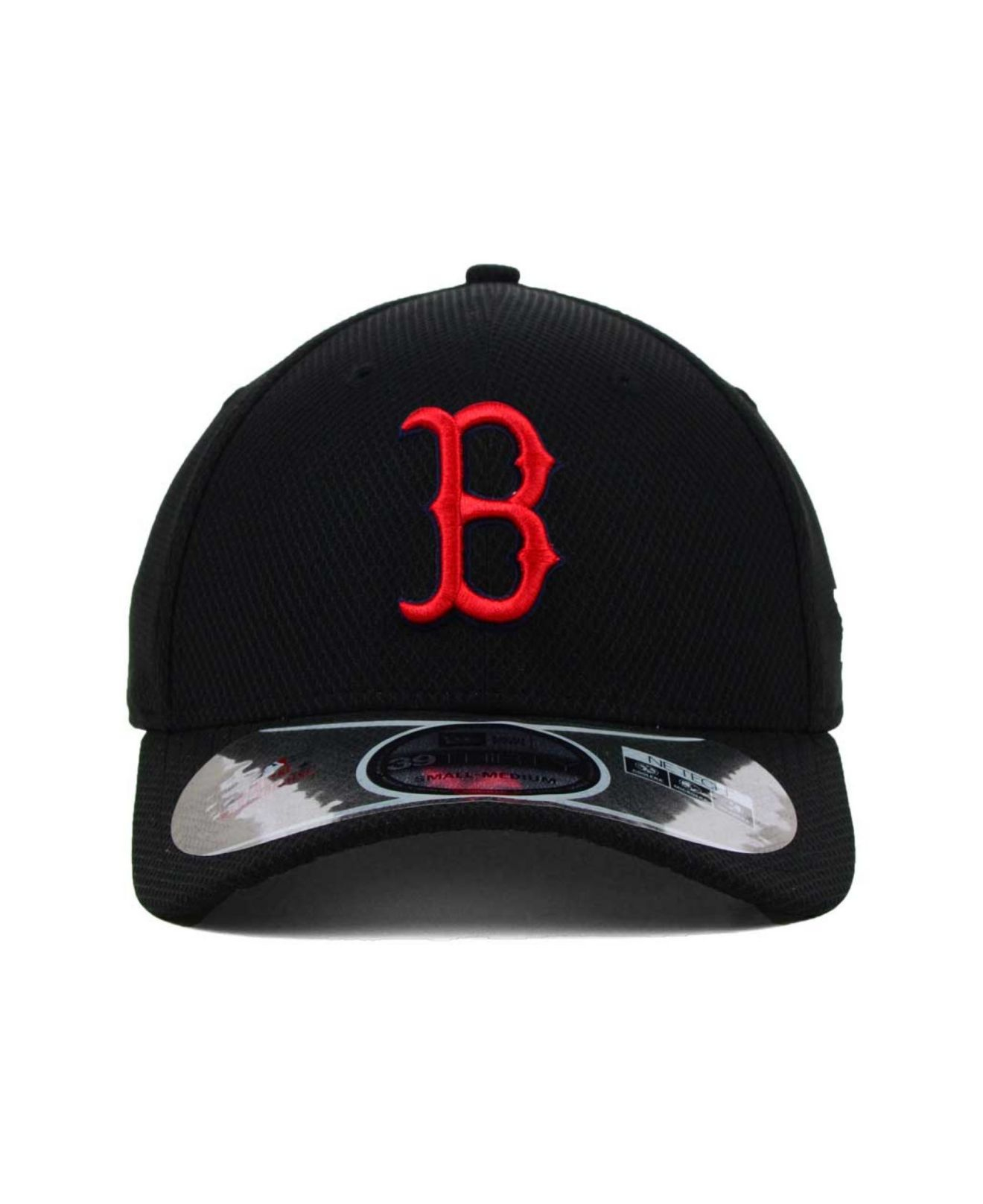 Lyst - KTZ Boston Red Sox Mlb Diamond Era Black 39thirty Cap in ... 9abf3cf90fe