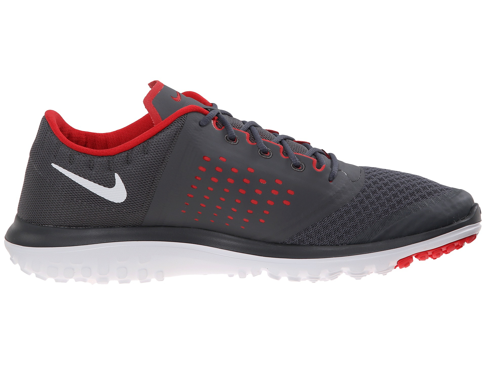 Lyst Nike Flytop Air Leather Hi Top Sneakers In Gray For Men
