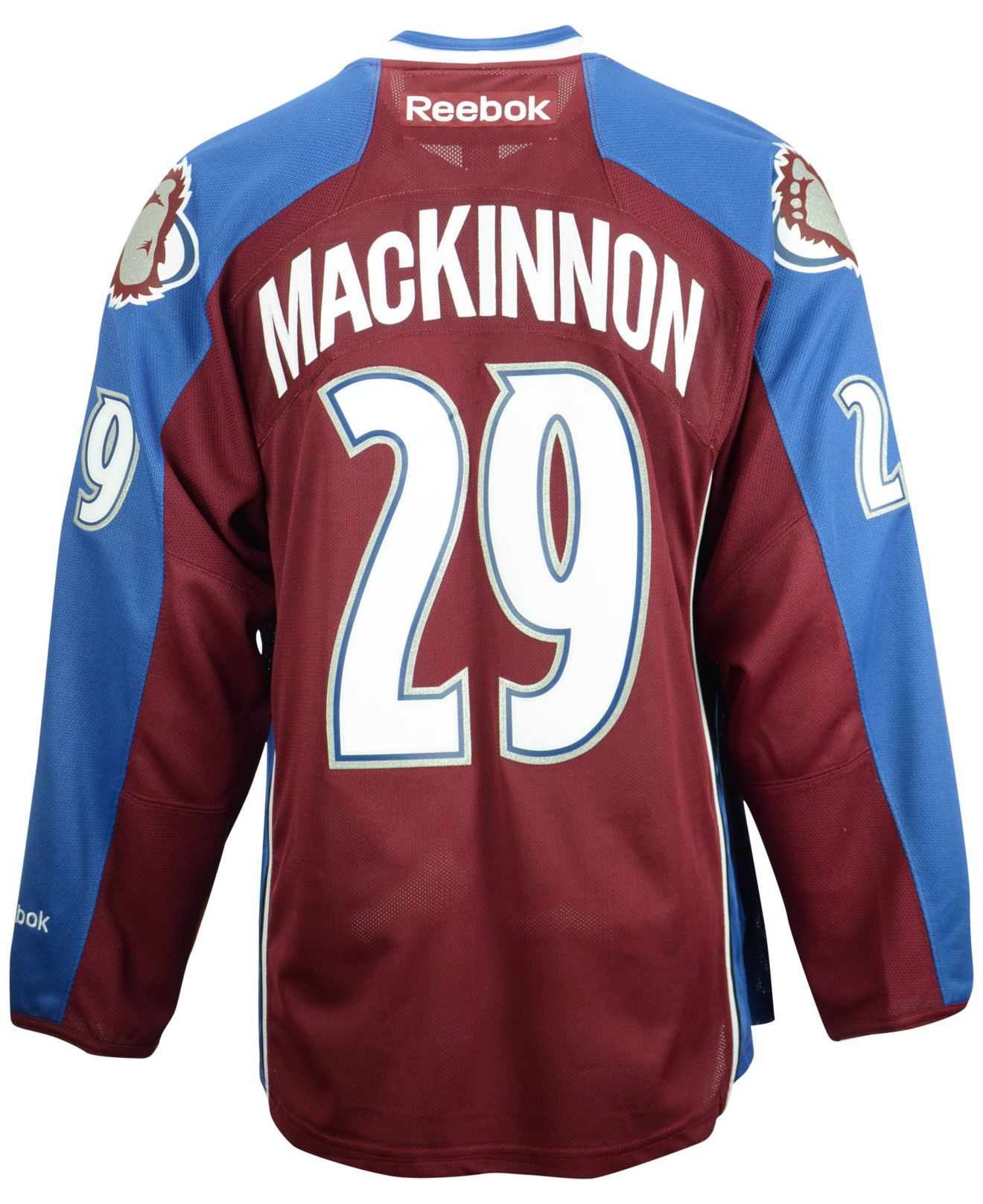 a84c9f3cc Lyst - Reebok Men s Nathan Mackinnon Colorado Avalanche Premier ...