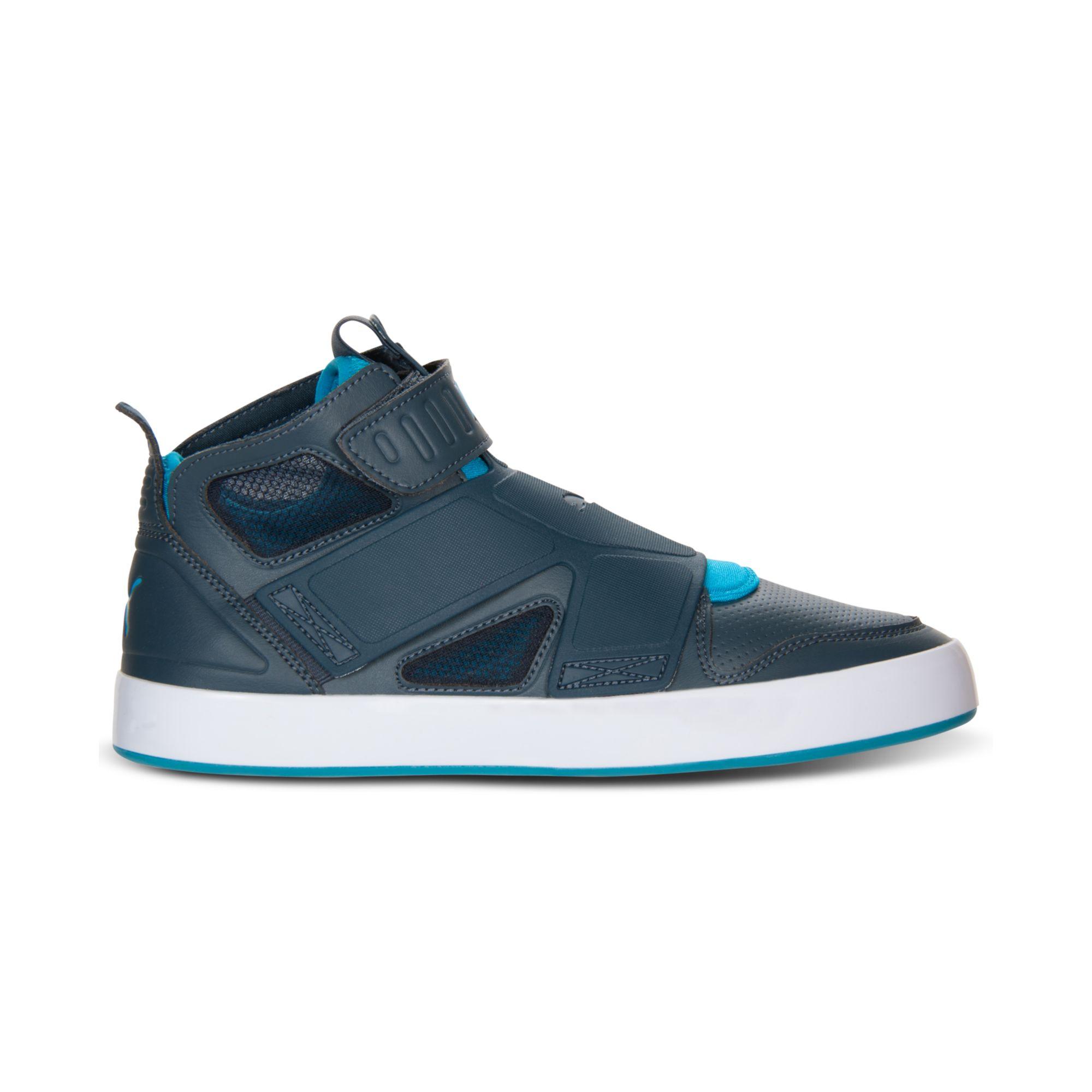 date de sortie 3922a 60af3 PUMA White El Rey Future High Top Sneakers for men