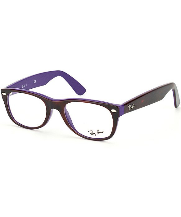 ray ban havana on violet new clubmaster sunglasses  gallery