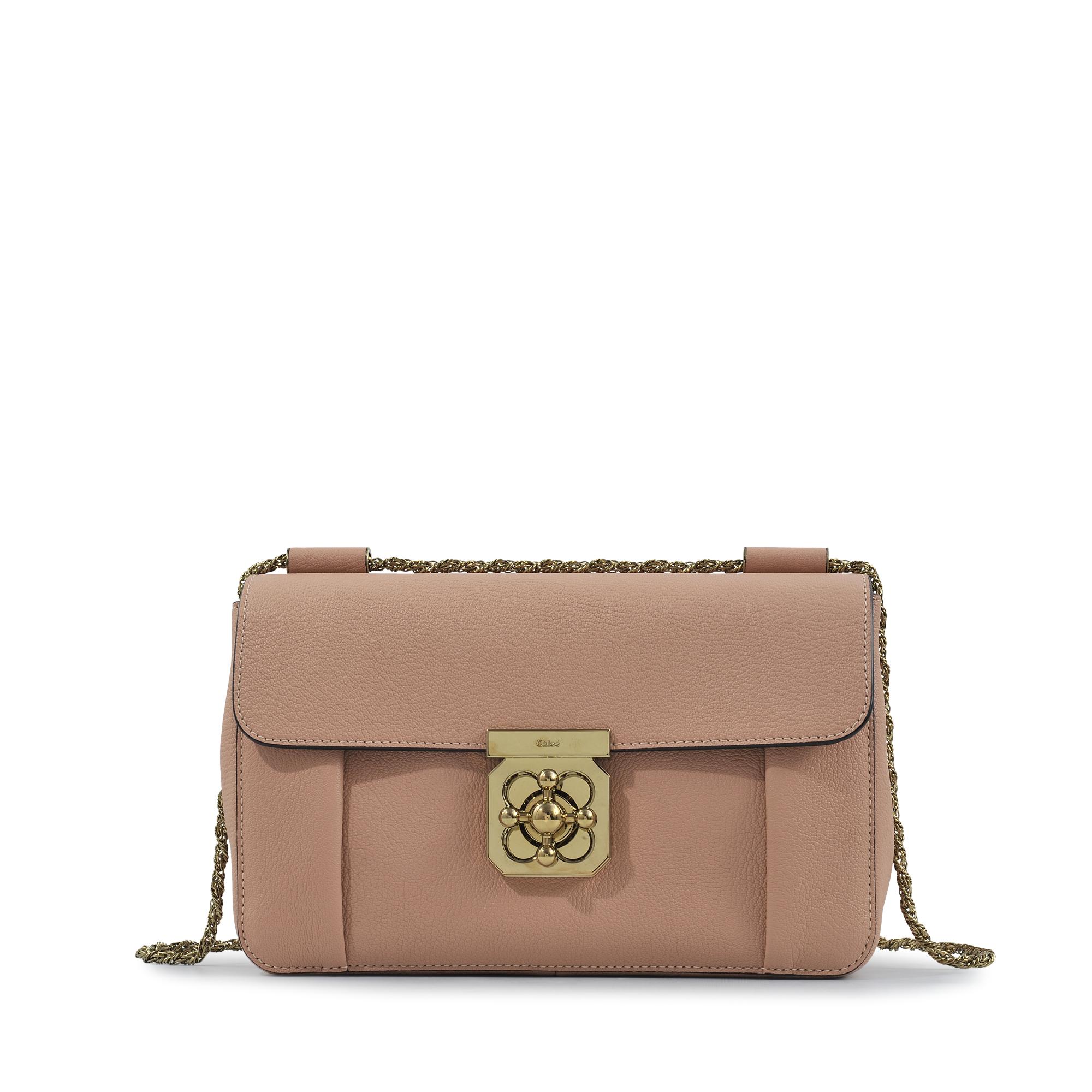 Chlo¨¦ Elsie Medium Shoulder Bag in Brown | Lyst