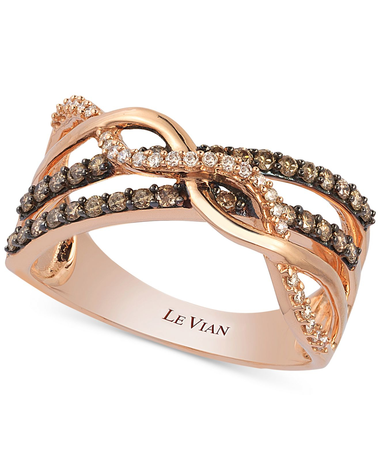 chocolate engagement zales rings le peach fresh bracelet of grace ring wedding vian strawberry jared diamonds levian diamond elegant bands
