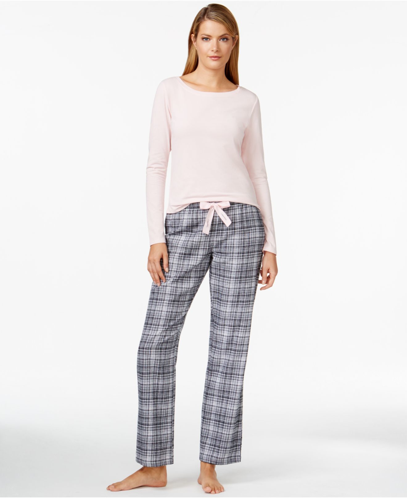 Innovative Calvin Klein Pajama Pants In Blue Star Gazer  Lyst