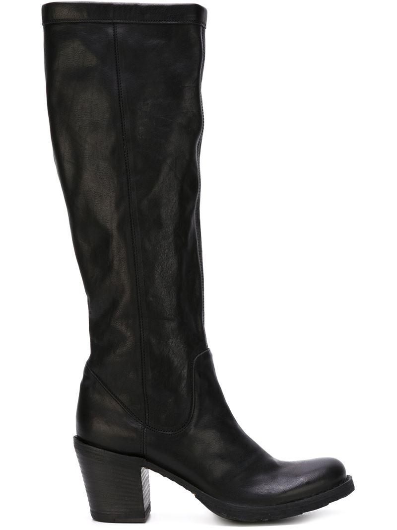 fiorentini baker numicus knee high boots in black lyst