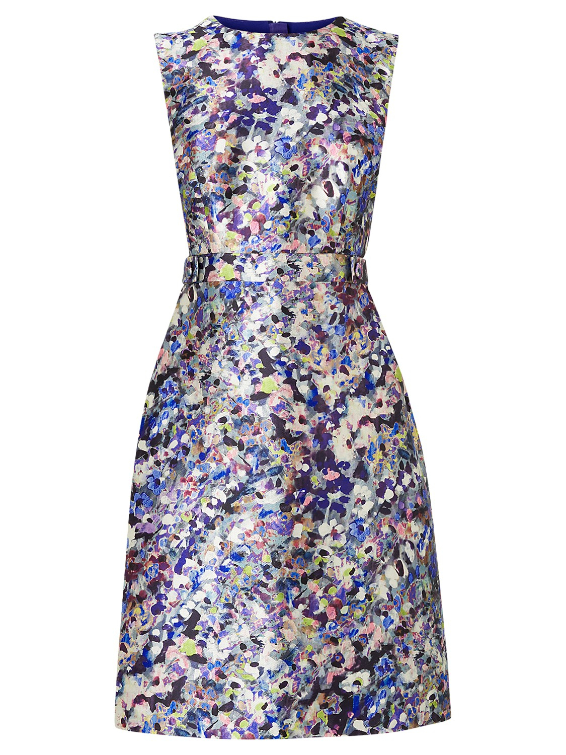 L susan ditsy floral print dress in blue lyst for Lk bennett wedding dress