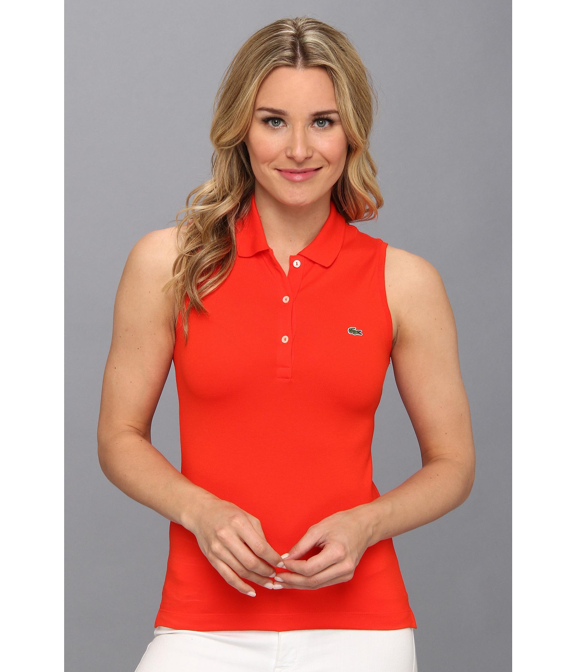 Womens Sleeveless Polo Shirt Uk Joe Maloy