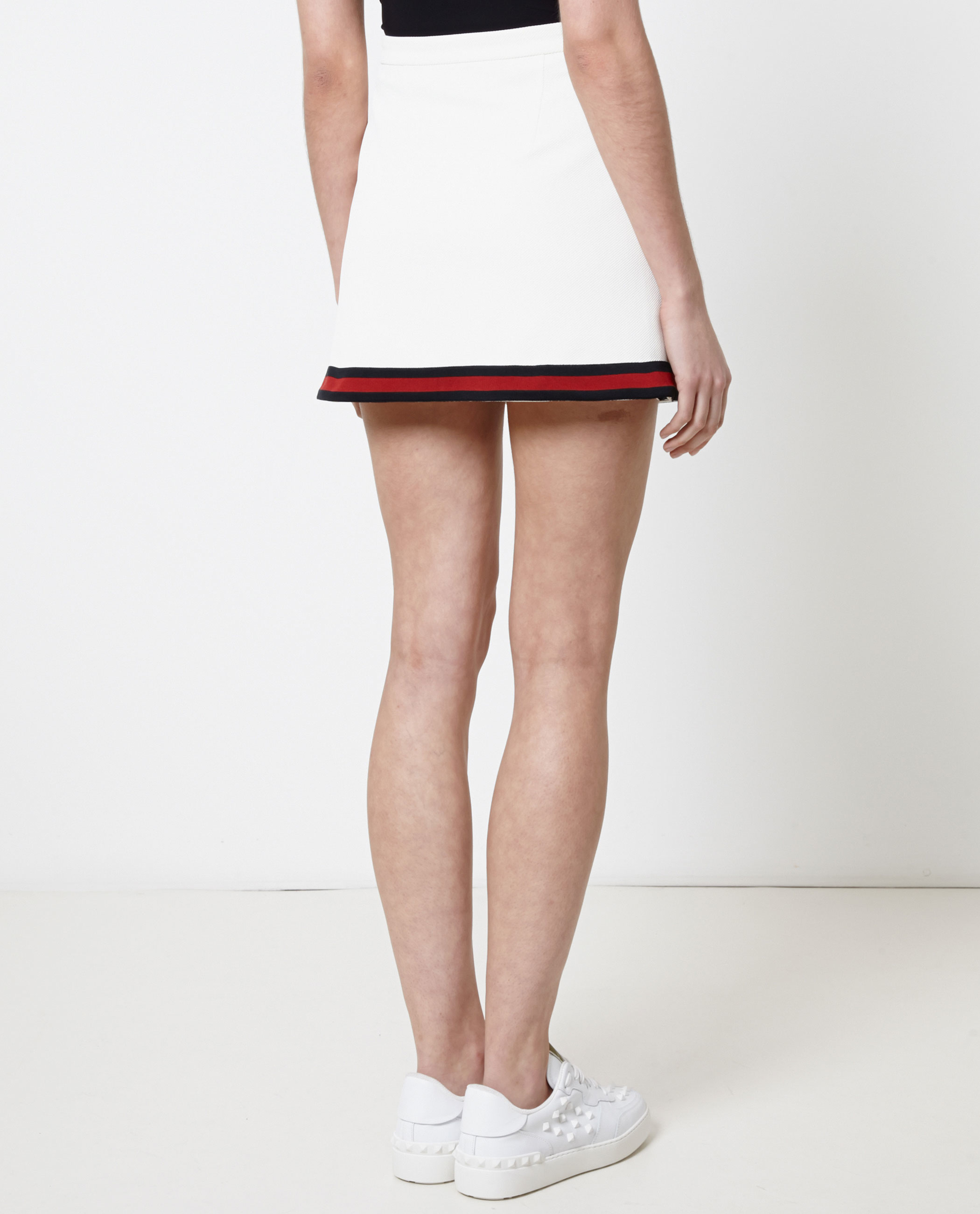 Gucci Tennis Skirt In White Lyst