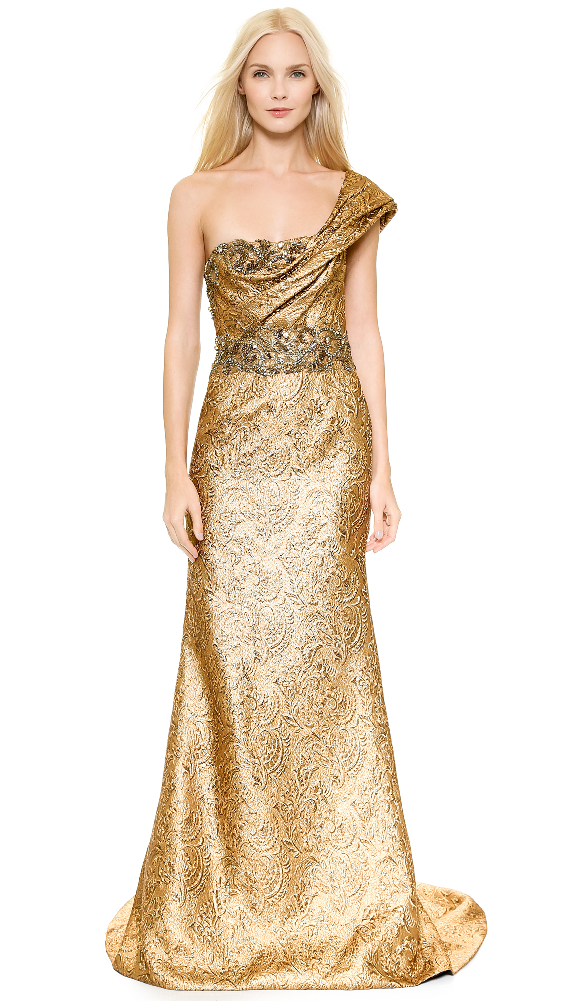 Image result for cream and gold gown