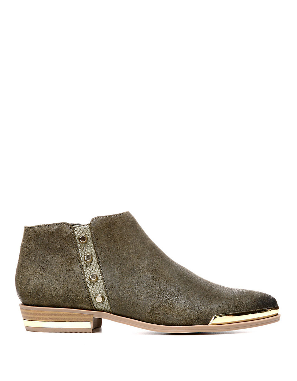 Fergie Indigo Leather Ankle Boots in Green | Lyst Fergie Shoes