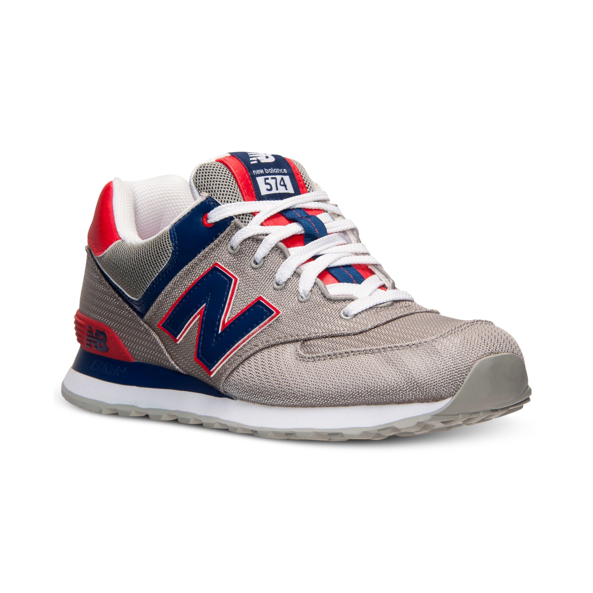 new balance mens 574 passport casual sneakers from finish. Black Bedroom Furniture Sets. Home Design Ideas
